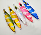 3PCS Fishing Deep sea Ocean Boat Lure Metal Jigging Jigbait Spoon 180g 220g