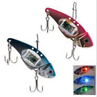 Deepwater Fishing LED Fish Lure Bait Light Flashing Lamp Tackle Hooks Outdoor tb