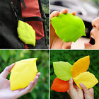 Health Silicone Travel Mug Leaf Shape Camping Hiking Outdoor Pocket Drink Cup YZ