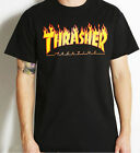 Autumn Men Women Short Sleeve T-shirt Crew Neck Pullover Thrasher Hoodie Punk P