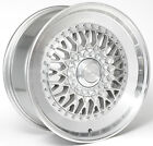 Alloy Wheels 18'' Drehen DH-X Silver Polished Rim For Peugeot 4008 12-16