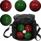 Trademark Games 9 Piece Full Size Premium Bocce Set with Easy Nylon Carry Case