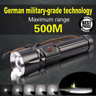 Waterproof CREE XML T6 LED 5 Modes Flashlight Zoomable 26650 Military Torch Lamp