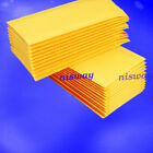 Kraft Bubble Mailers Padded Envelopes Shipping Bags Self Seal Yellow 10/50/100x