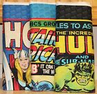 Marvel Comics Captain America Hulk & Thor Quilt Panels bty SOLD SEPARATELY