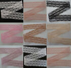Wholesale 10-100yards embroidery lace ribbon colors can be selected Q4