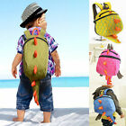 Baby Toddler Kids Child Dinosaur Canvas Harness Backpack Schoolbag Shoulder Bag