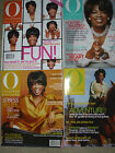 O The Oprah Magazine Lot (4)  2002 ~ Stress Relief Energy Diet Fun Exercise