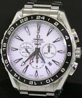 Omega Seamaster GMT SS automatic chronograph 44mm men's watch w B P