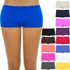 Seamless Basic Solid Mini Layering Stretchable Shorts Casual Easy Wear ONE SIZE