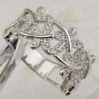 Size 7 8 9 10 Gorgeous Multi Dragonfly White CZ Jewelry Gold Filled Ring R2594