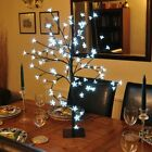 BONSAI TREE 96 OR 48 WHITE LED LIGHTS SPRING FLOWER DINNER TABLE CENTREPIECE