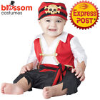CK912 Pee Wee Pirate Infant Toddler Boys Kid Child Fancy Dress Up Costume Outfit