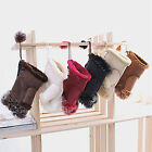 CHIC New Fashion Women's  Rabbit Fur Hand Wrist Warmer Fingerless Winter Gloves