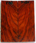 COCOBOLO ROSEWOOD ROOT WOOD Pistol Grip/Knife scales EXTRA NICE L@@K!!! F-86