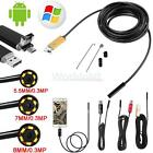2M/5M/10M Android Endoscope Waterproof Inspection Camera USB Video Camera US New