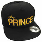 Prince Embroidered Rapper Cap - Flat Peak Princess Snapback Unisex Fashion Hat