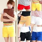 8 Colors 2014 New Fashion Girl/Womens Candy Color Summer Shorts Hot Pants K0E1