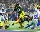 Ty Montgomery Green Bay Packers 2017 NFL Playoff Photo TS190 (Select Size) on eBay