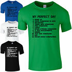 My Perfect Day Kawasaki T-Shirt - Dads Ninja Motorcycle To Do List Mens Gift Top