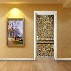 3D Carved Patterns Door Wall Mural Photo Wall Sticker Decal Wall AJ WALLPAPER AU