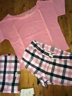 JACK WILLS Burntonwood Short PJ Pyjamas Sz 8 10 12 & 14 RRP£39.50 Free UK P&P