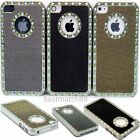sale for iphone 4s - for iphone 4 4s gold black silver 1, 2 or 3 case green stone glitter whole sale