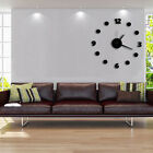 Living room DIY Numbers Wall Clock Acrylic Wall Stickers Watches Home Decor