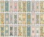 Santoro of London Mirabelle Deco Mâché Paper CHOOSE FROM 33 DESIGNS  RETIRED $3.49 USD