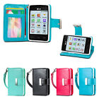 IZENGATE Executive Wallet Flip Case PU Leather Cover Folio for LG 840G