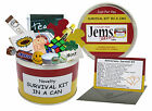 ANNIVERSARY Survival Kit In A Can. Mum/Dad/Grandparents/Friend/Parents Gift Card