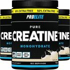 CREATINE Monohydrate  500g + 250g FREE = 750g 100% Pure Micronised ProElite