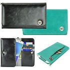 blackberry phablet - Smart Phone Phablet Luxury Flip Wallet Leather Design Pouch Purse Case Cover