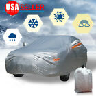 10 Layer Car Cover Outdoor Waterproof Breathable Sun UV Dust Rain Snow Resistant