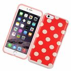 Hard Dual Layer Hybrid Cover Case with card slot holder For Apple iPhone 6/6s