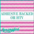 Pink Ombre Chevron Stripes Pattern #3 Adhesive Vinyl or HTV for Crafts Shirt