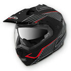 Caberg Tourmax Sonic Matt Black Red Motorcycle Helmet