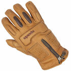 Spada Motorcycle Leather Gloves Rigger Waterproof Sand