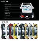 New Love Mei Metal Case Shockproof Waterproof Rugged Protective for iPhone 5 5S