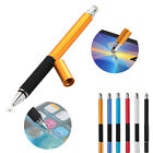 2in1 Capacitive Fine Point Round Thin Tip Touch Screen Stylus Pen For Cellphones
