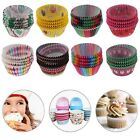 100PCS Paper Cake Cup Liners Baking Muffin Kitchen Party Cupcake Cases