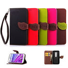 Fr LG G4 Beat / G4s H735 Leaf Magnetic Leather Wallet Flip Card Stand Case Cover