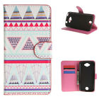 Wallet Leather Stand Flip Magnet Card Case Cover For Many Smart Phone flower y41
