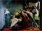 Poster / Canvas picture the assassination of Marat - Jean Joseph Weerts