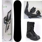 NEW CUSTOM SNOWBOARD,  BINDINGS,  BOOTS PACKAGE - 150cm