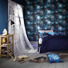Arthouse Magic Kingdom Wallpaper Blue Feature Wall 696100
