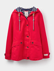Joules Coast Waterproof Hooded Jacket (W)  RRP £84.95  - Red