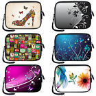 "7 inch 8"" Tablet eBook Carrying Sleeve for Apple iPad Mini Galaxy Nexus Kindle"