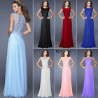 2017 Women Long Wedding Bridesmaid Lace Prom Ball Cocktail Party Evening Dress
