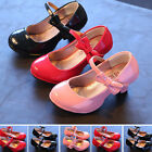 CHILDRENS GIRLS KIDS HIGH MID HEEL Princess PARTY SHOES BRIDESMAID SANDALS BRAND